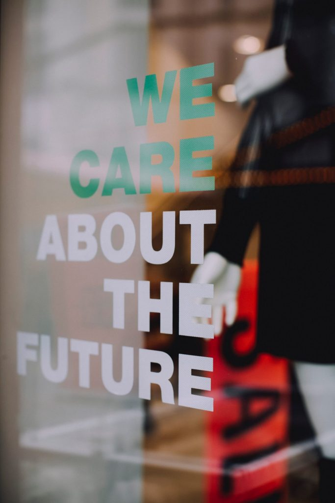we care about the future